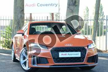 Audi TT 45 TFSI S Line 2dr S Tronic in Pulse Orange at Coventry Audi