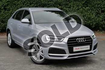 Audi Q3 Special Editions 1.4T FSI S Line Edition 5dr in Floret Silver Metallic at Worcester Audi
