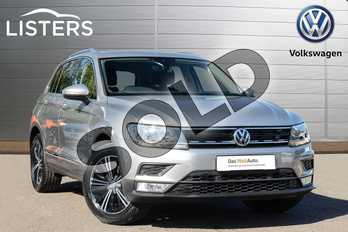 Volkswagen Tiguan 1.4 TSI 150 SE 5dr in Tungsten Silver at Listers Volkswagen Leamington Spa
