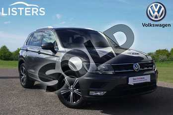 Volkswagen Tiguan Diesel 2.0 TDI 150 SE 5dr in Indium Grey at Listers Volkswagen Loughborough