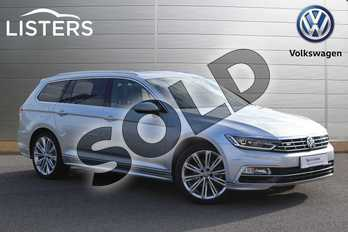 Volkswagen Passat 1.5 TSI EVO 150 R Line 5dr DSG (Panoramic Roof) in Reflex silver at Listers Volkswagen Nuneaton