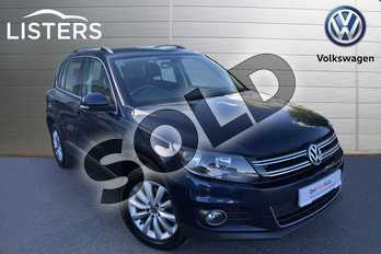 Volkswagen Tiguan Diesel 2.0 TDI BlueMotion Tech Match 5dr in Night Blue at Listers Volkswagen Worcester