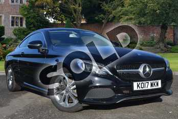 Mercedes-Benz C Class Diesel C220d Sport 2dr in Obsidian Black Metallic at Mercedes-Benz of Lincoln