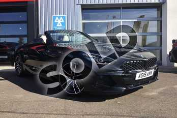 BMW Z4 Roadster sDrive 30i M Sport 2dr  Auto in Black Sapphire metallic paint at Listers King's Lynn (BMW)