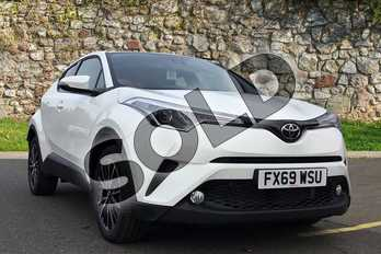 Toyota C-HR 1.2T Excel 5dr (Leather) in Pure White at Listers Toyota Boston