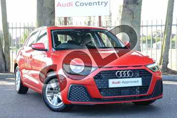 Audi A1 30 TFSI SE 5dr in Misano Red Pearlescent at Coventry Audi