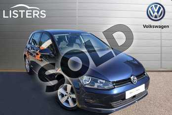 Volkswagen Golf Diesel 2.0 TDI Match 5dr in Night Blue at Listers Volkswagen Worcester