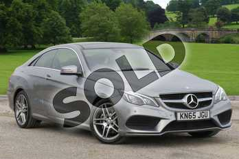 Mercedes-Benz E Class Diesel E220 BlueTEC AMG Line 2dr 7G-Tronic in Palladium Silver metallic at Mercedes-Benz of Boston