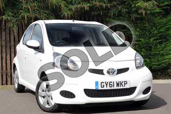Toyota AYGO Special Edition 1.0 VVT-i Go 5dr in White at Listers Toyota Coventry