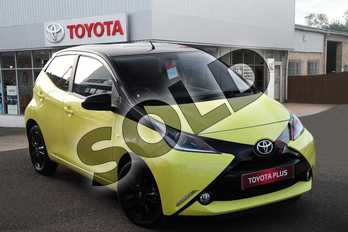 Toyota AYGO Special Editions 1.0 VVT-i X-Cite 3 5dr in Yellow Fizz at Listers Toyota Grantham