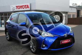 Toyota Yaris 1.0 VVT-i Icon 5dr in Blue at Listers Toyota Grantham