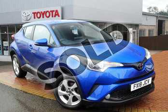 Toyota C-HR 1.2T Icon 5dr in Nebula Blue at Listers Toyota Grantham