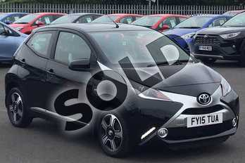 Toyota AYGO Special Editions 1.0 VVT-i X-Clusiv 5dr in Black at Listers Toyota Lincoln