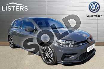 Volkswagen Golf Diesel 2.0 TDI R-Line 5dr DSG in Grey at Listers Volkswagen Coventry
