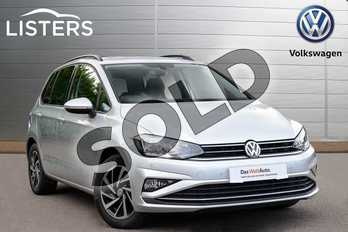 Volkswagen Golf SV 1.6 TDI 115 Match 5dr DSG in Reflex silver at Listers Volkswagen Coventry