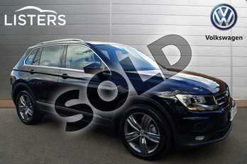 Volkswagen Tiguan Diesel 2.0 TDI 190 4Motion Match 5dr DSG in Deep black at Listers Volkswagen Coventry