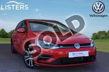 Volkswagen Golf 1.5 TSI EVO 150 R-Line 5dr DSG in Tornado Red at Listers Volkswagen Loughborough