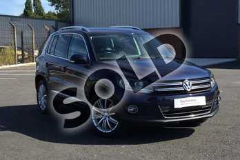 Volkswagen Tiguan Diesel 2.0 TDI BlueMotion Tech Match Edition 150 5dr in Night Blue at Listers Volkswagen Loughborough