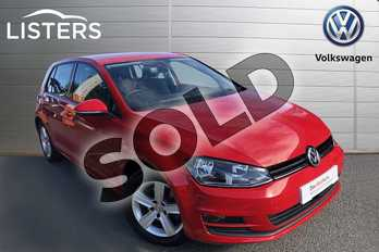 Volkswagen Golf 1.4 TSI Match 5dr in Tornado Red at Listers Volkswagen Worcester