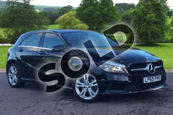 Mercedes-Benz A Class Diesel A200d Sport 5dr in Cosmos Black at Mercedes-Benz of Grimsby