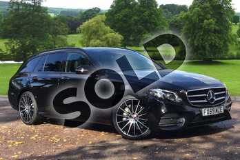 Mercedes-Benz E Class Diesel E400d 4Matic AMG Line 5dr 9G-Tronic in obsidian black metallic at Mercedes-Benz of Grimsby
