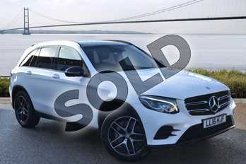 Mercedes-Benz GLC Diesel GLC 250d 4Matic AMG Line Premium 5dr 9G-Tronic in Polar White at Mercedes-Benz of Hull