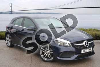 Mercedes-Benz A Class Diesel A200d AMG Line 5dr in Cavansite blue Metallic at Mercedes-Benz of Hull
