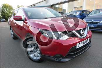 Nissan Qashqai 1.2 DiG-T Visia 5dr in Metallic - Magnetic Red at Listers Toyota Grantham