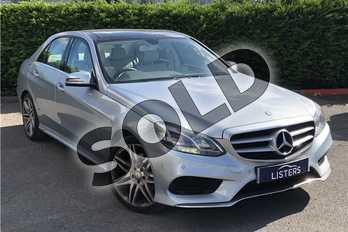 Mercedes-Benz E Class Diesel E220 CDI AMG Sport 4dr 7G-Tronic in Metallic - Diamond silver at Listers U Boston