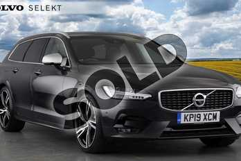 Volvo V90 Diesel 2.0 D5 PowerPulse R DESIGN Pro 5dr AWD Geartronic in Savile Grey at Listers Volvo Worcester