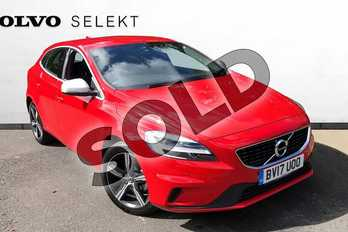 Volvo V40 Diesel D2 (120) R DESIGN 5dr in Passion Red at Listers Volvo Worcester