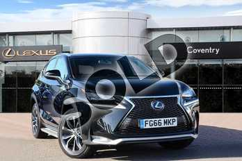 Lexus NX 300h 2.5 F-Sport 5dr CVT in Velvet Black at Lexus Coventry