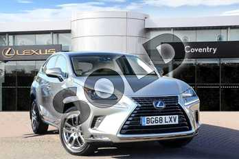 Lexus NX 300h 2.5 Luxury 5dr CVT (Premium Nav) in Sonic Titanium at Lexus Coventry