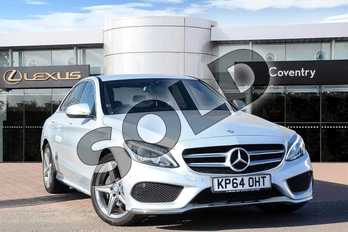 Mercedes-Benz C Class Diesel C220 BlueTEC AMG Line 4dr Auto in Silver at Lexus Coventry