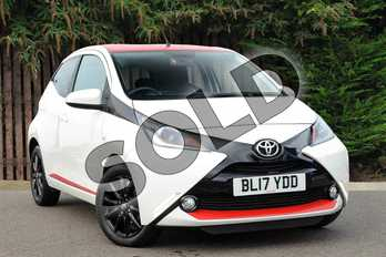 Toyota AYGO 1.0 VVT-i X-Press 5dr in White Flash at Listers Toyota Coventry