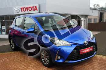 Toyota Yaris 1.5 VVT-i Icon 5dr in Nebula Blue at Listers Toyota Grantham