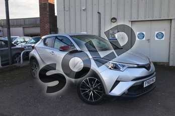 Toyota C-HR 1.2T Excel 5dr (Leather) in Tyrol Silver at Listers Toyota Grantham