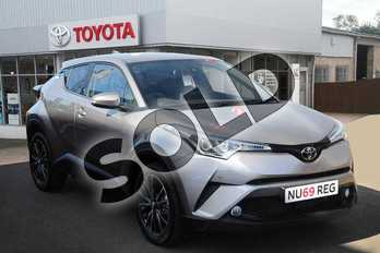 Toyota C-HR 1.2T Excel 5dr (Leather) in Metal Stream at Listers Toyota Grantham