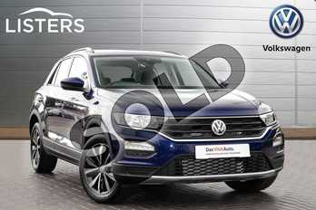 Volkswagen T-Roc Diesel 1.6 TDI SE 5dr in Blue at Listers Volkswagen Coventry