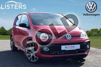 Volkswagen Up 1.0 115PS Up GTI 5dr in Tornado Red at Listers Volkswagen Loughborough