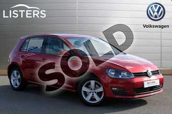 Volkswagen Golf 1.4 TSI Match 5dr in Carmen Red at Listers Volkswagen Nuneaton