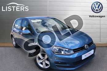 Volkswagen Golf Diesel 1.6 TDI 105 Match 5dr in Pacific Blue at Listers Volkswagen Worcester