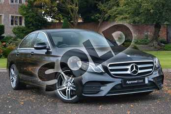 Mercedes-Benz E Class Diesel E220d AMG Line 4dr 9G-Tronic in Obsidian Black Metallic at Mercedes-Benz of Lincoln