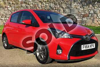 Toyota Yaris 1.33 VVT-i Icon 5dr in Chilli Red at Listers Toyota Boston