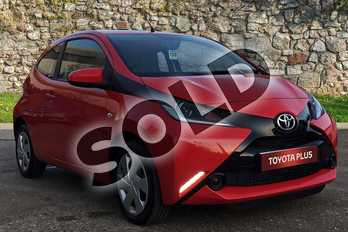 Toyota AYGO 1.0 VVT-i X-Play 3dr in Chilli Red at Listers Toyota Boston