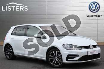 Volkswagen Golf 1.5 TSI EVO 150 R-Line 5dr in Pure White at Listers Volkswagen Nuneaton