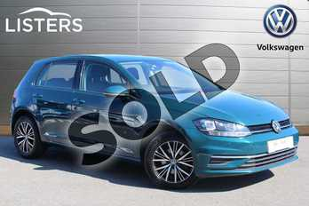 Volkswagen Golf Diesel 1.6 TDI SE (Nav) 5dr in Peacock Green at Listers Volkswagen Nuneaton