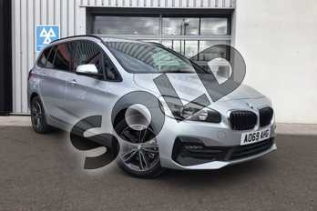 BMW 2 Series 218i Sport 5dr Step Auto in Glacier Silver at Listers King's Lynn (BMW)