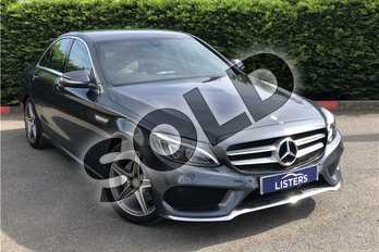 Mercedes-Benz C Class Diesel C220 BlueTEC AMG Line 4dr Auto in Metallic - Tenorite grey at Listers U Boston