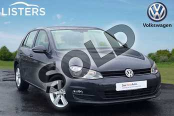 Volkswagen Golf Diesel 1.6 TDI 110 Match Edition 5dr in Indium Grey at Listers Volkswagen Loughborough